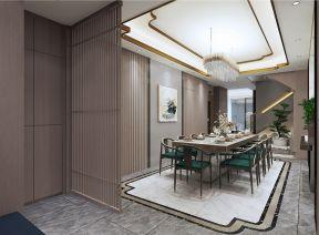 2021新中式餐厅效果图 2021新中式地砖装修效果图大全