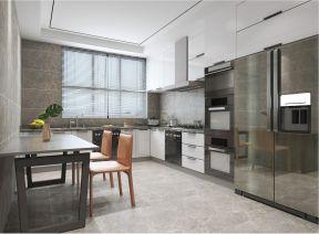 2021新中式厨房装修图 2021新中式橱柜装修效果图片