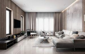 2021现代150平米效果图 2021现代套房设计图片