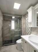 卫生间地板砖美式装饰效果图