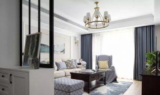 淡雅客厅美式室内装饰