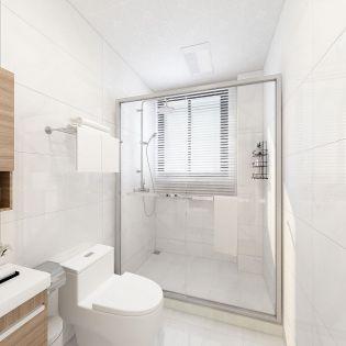 卫生间地砖现代简约家装设计