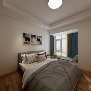 典雅蓝色卧室装饰设计
