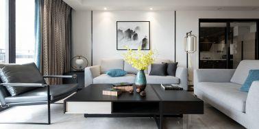 2019新中式110平米装修设计 2019新中式公寓装修设计