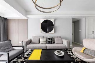 130平米現代主義4室2廳,享受慵懶舒適慢生活