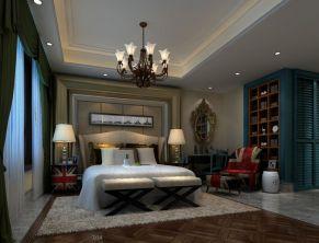 优雅卧室中式家装设计图