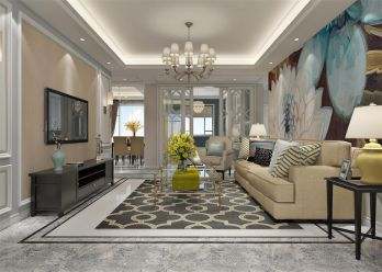 干净客厅设计方案