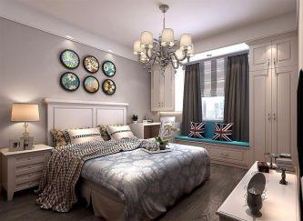 高贵风雅卧室室内装饰