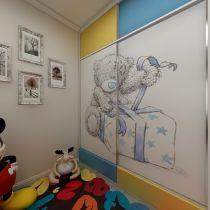 优雅儿童房装潢效果图