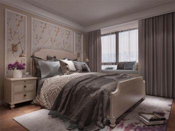 卧室床美式设计图片