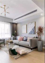 眩亮客厅沙发装修实景图