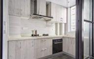 厨房米色橱柜装潢图片