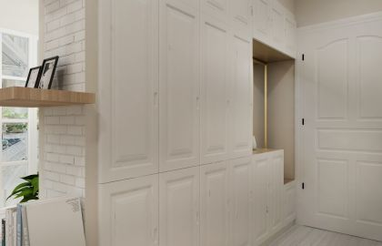 设计精巧玄关北欧室内装修图片