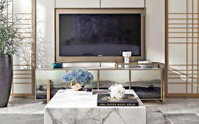 美好客厅中式设计图