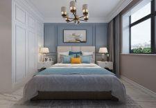 现代简约卧室吊顶构造图
