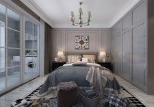 美感暖色系卧室装潢实景图