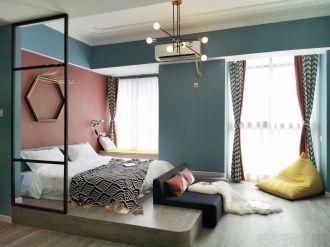 简约卧室混搭平面图