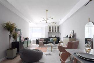 质朴客厅北欧装修效果图