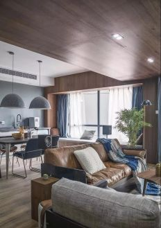 设计优雅客厅吊顶效果图图片