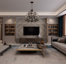 优雅客厅现代简约室内装饰