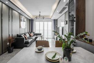 2019现代简约70平米设计图片 2019现代简约三居室装修设计图片