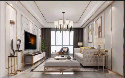 2019后现代110平米装修设计 2019后现代三居室装修设计图片