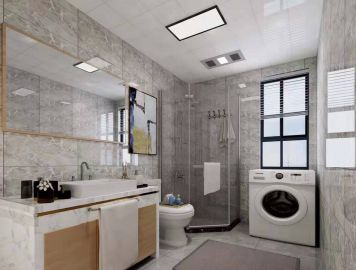 獨具一格浴室柜實景圖