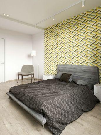 现代简约卧室地板装饰设计