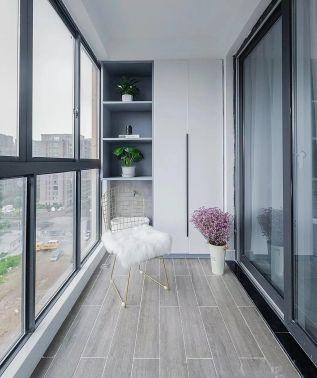 现代阳台北欧装修方案
