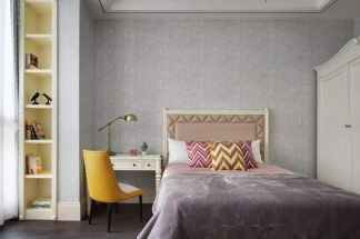 极致白色卧室室内装修图片