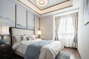 富丽客厅新中式效果图图片