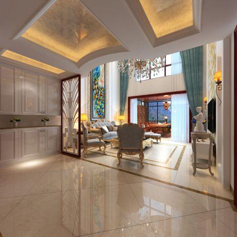 客厅白色背景墙效果图大全