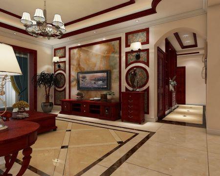 古朴客厅装修方案