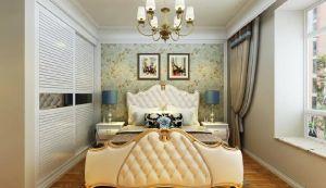 卧室衣柜欧式装修实景图片