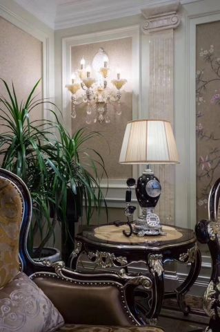 富丽客厅背景墙室内装修设计