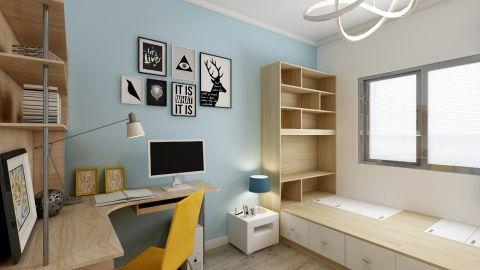 设计精巧儿童房衣柜案例图片