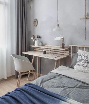 卧室床简约设计方案
