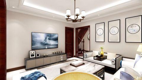 朴素温馨卧室装修实景图