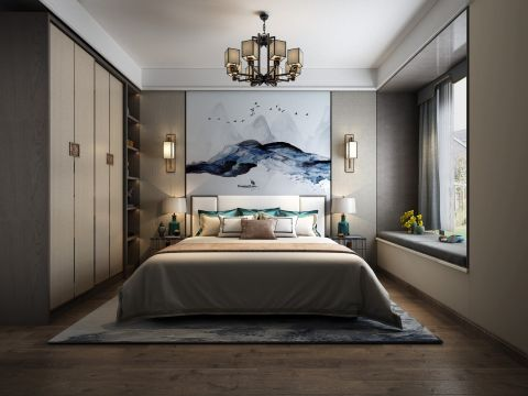 2020簡約110平米裝修設計 2020簡約二居室裝修設計