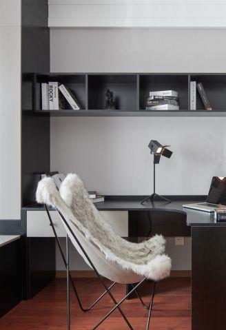 典丽矞皇现代简约灰色飘窗装修图