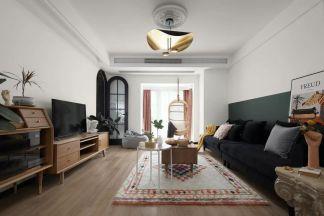 北欧客厅沙发效果图图片