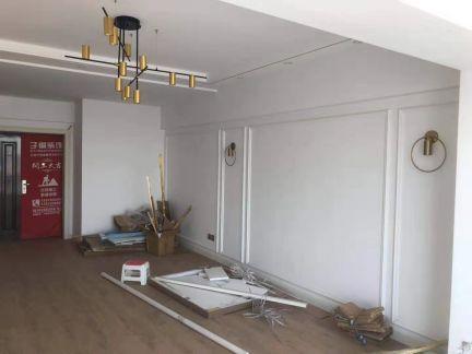清新素丽客厅背景墙装修效果图大全