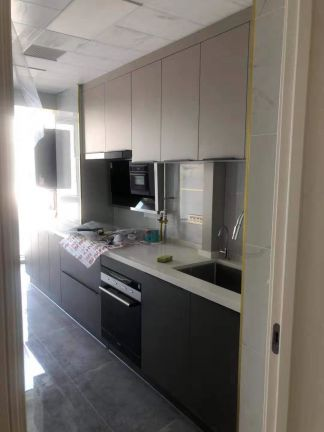 2021简约厨房装修图 2021简约橱柜装修效果图片