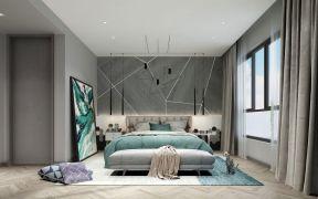 优雅棕绿色客厅设计图欣赏