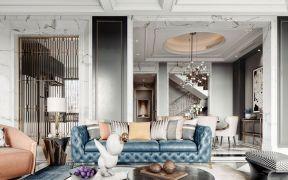 2019法式300平米以上装修效果图片 2019法式别墅装饰设计