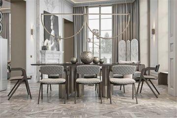 完美客厅博古架装修效果图