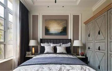 2019法式卧室装修设计图片 2019法式背景墙装饰设计