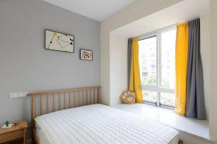 卧室背景墙北欧家装设计