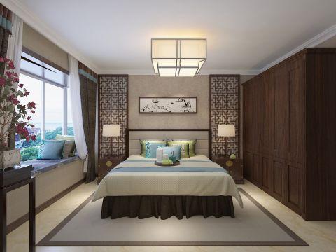 朴素温馨卧室飘窗室内装修图片