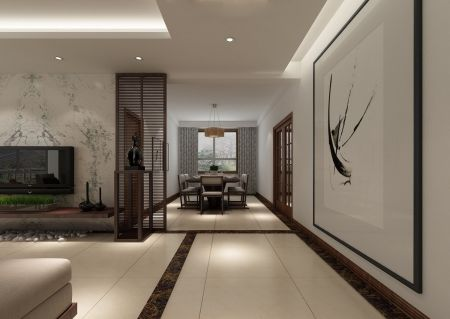2019地中海150平米效果图 2019地中海三居室装修设计图片
